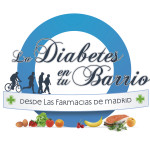 La diabetes en tu barrio Farmacias · Logo