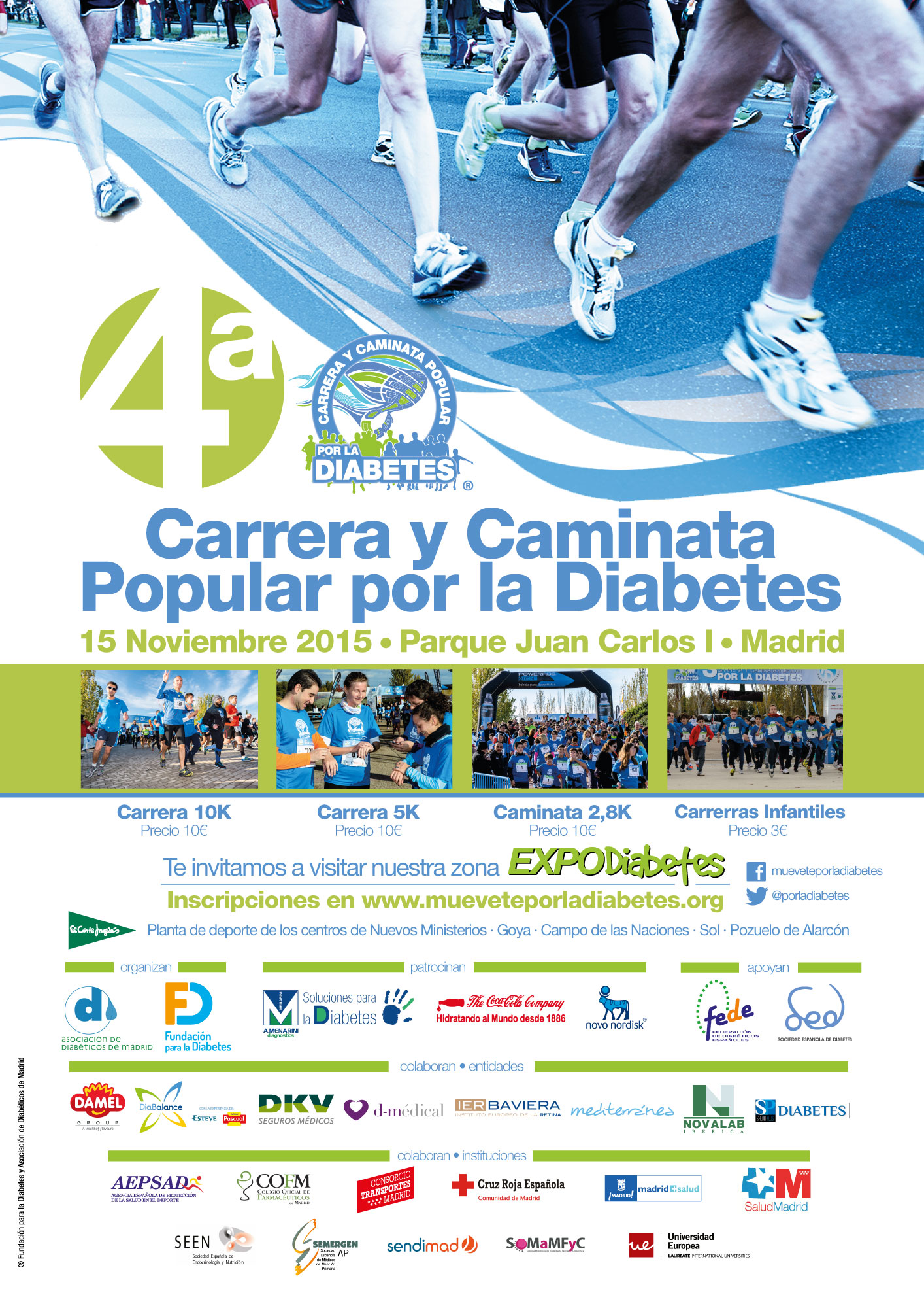 cartel_carrera_diabetes_2015_ Todos los logos OK