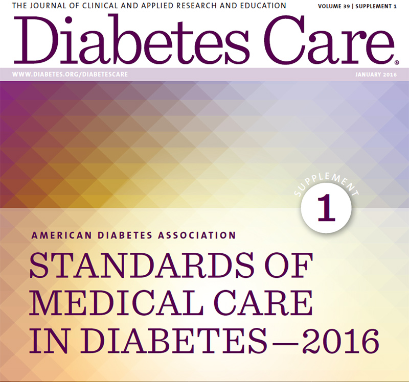 AMERICAN DIABETES ASSOCIATION. STANDARDS OF MEDICAL CARE