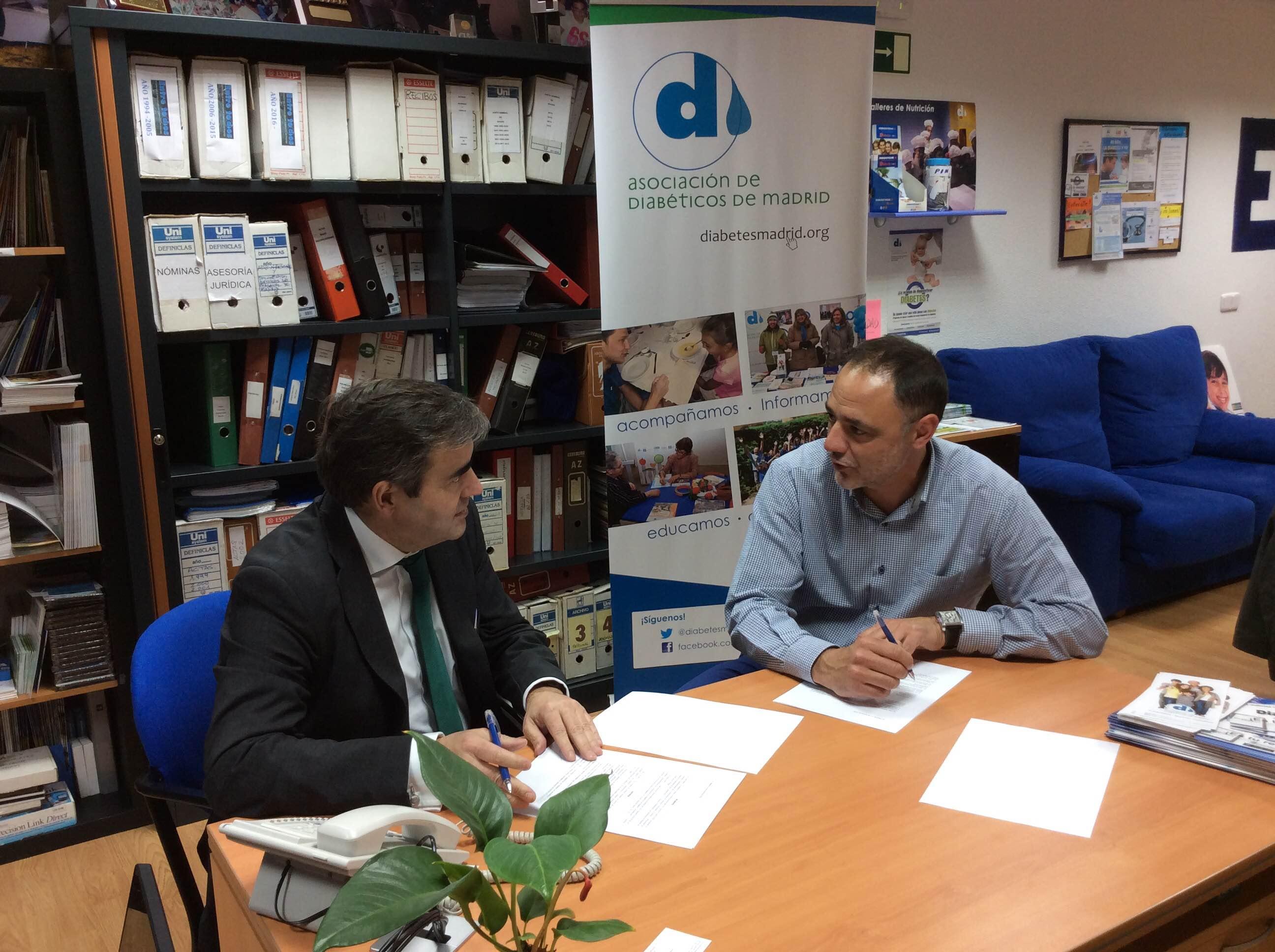 Renovamos el convenio de colaboraci n entre la asociaci n for Convenio oficinas y despachos comunidad de madrid