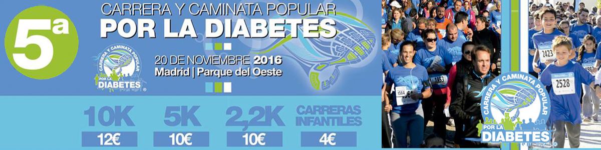 5ª Carrera y Camina Popular por la Diabetes y ExpoDiabetes