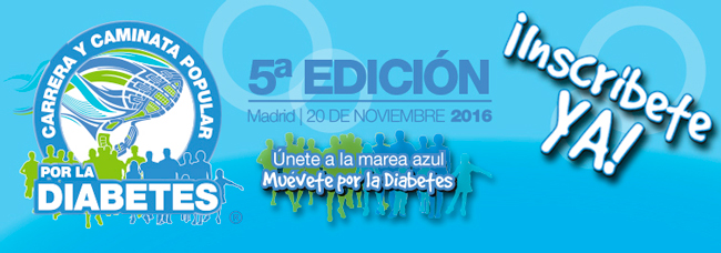 Día Mundial de la Diabetes 2020 Camina sobre la imagen
