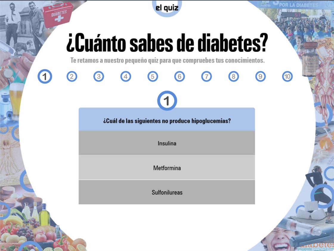 testen de pruebas para diabetes