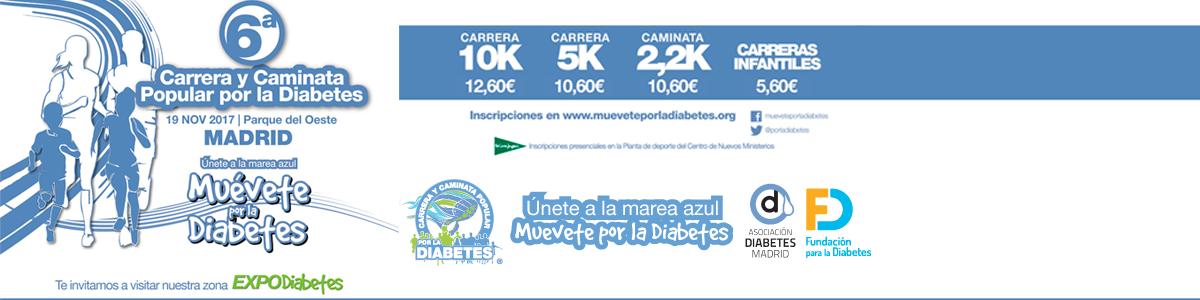 6ª Carrera y Caminata Popular por la Diabetes y ExpoDiabetes