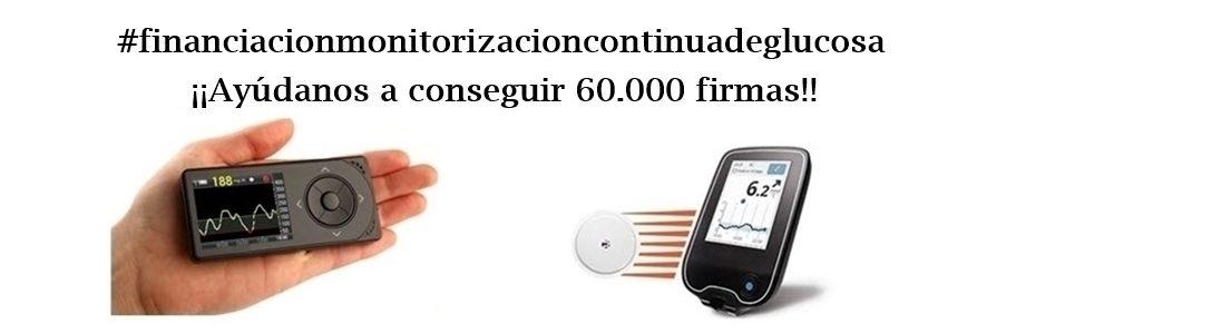 """Campaña """"Financiación de la Monitorización Continua de Glucosa"""""""
