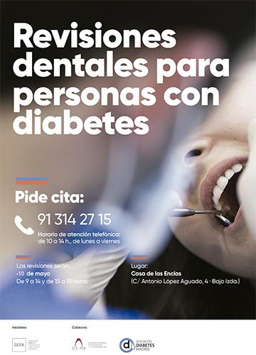 Revisión gratuita de encías para personas con diabetes