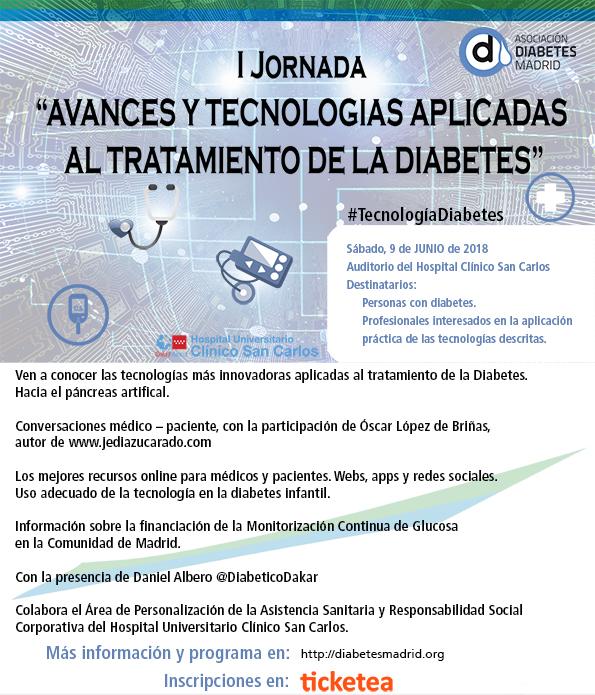 """I Jornada """"Avances y tecnologías aplicadas al tratamiento"""