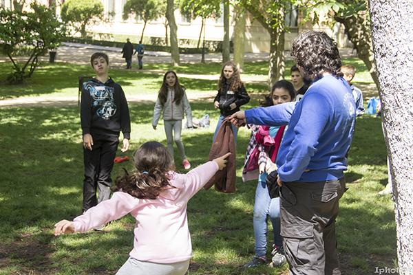 Juegos y deportes en el Parque del Retiro