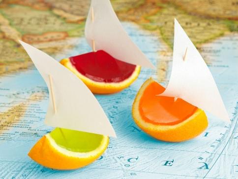 Recetas por raciones: Barquitos de naranja