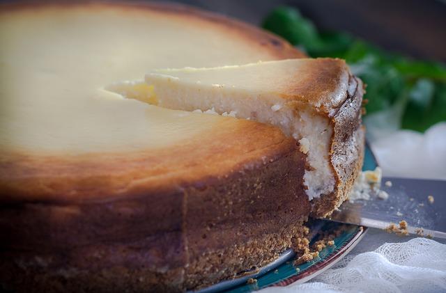Receta por raciones: Tarta de queso