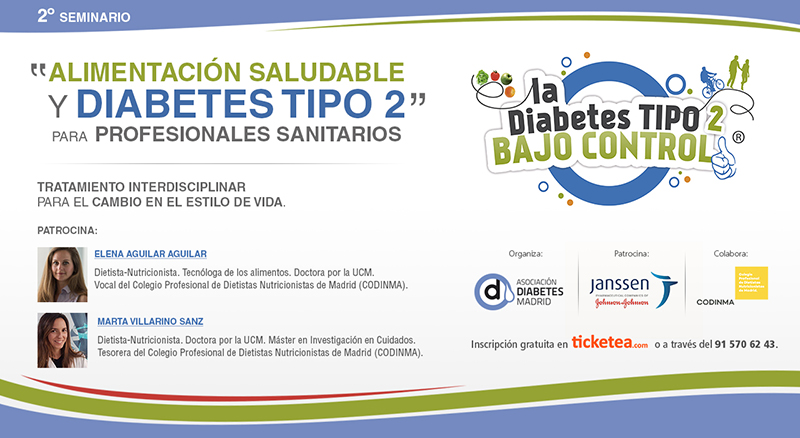Alimentación saludable y diabetes tipo 2