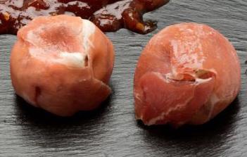 Receta por raciones: Bombones de jamón