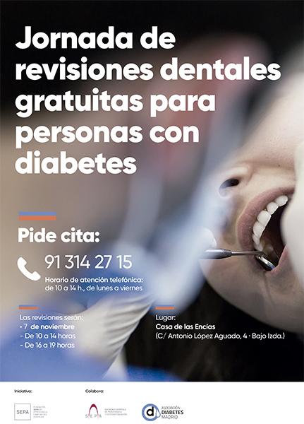 Revisión dental gratuita