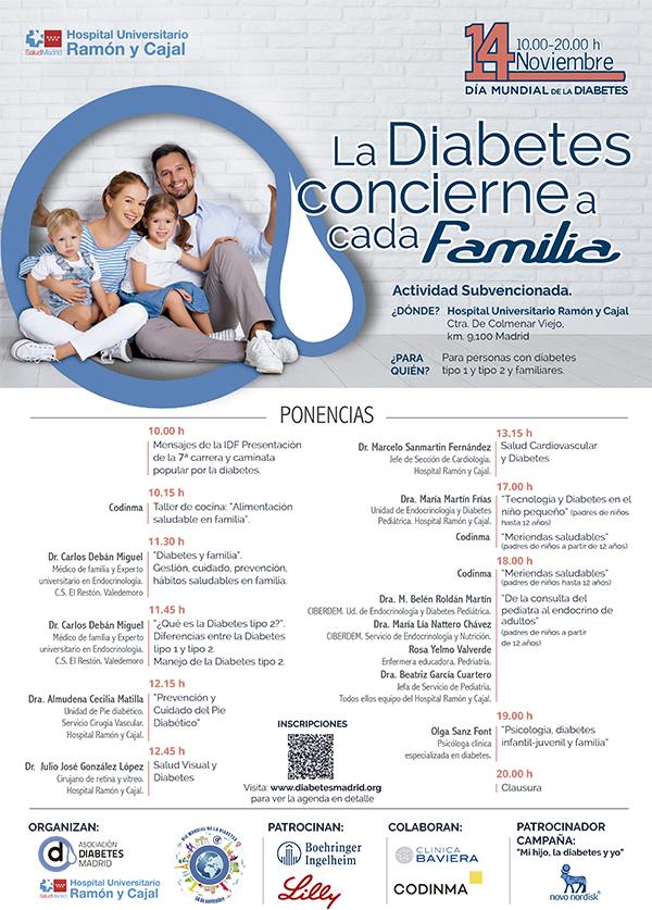 Jornada Educativa del Día Mundial de la Diabetes 2018