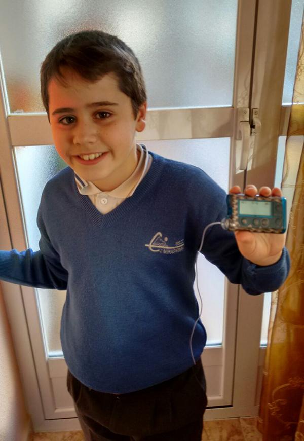 Bombas de insulina en niños