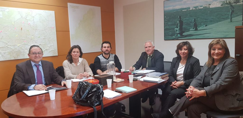 Nueva reunión con la Consejería de Sanidad
