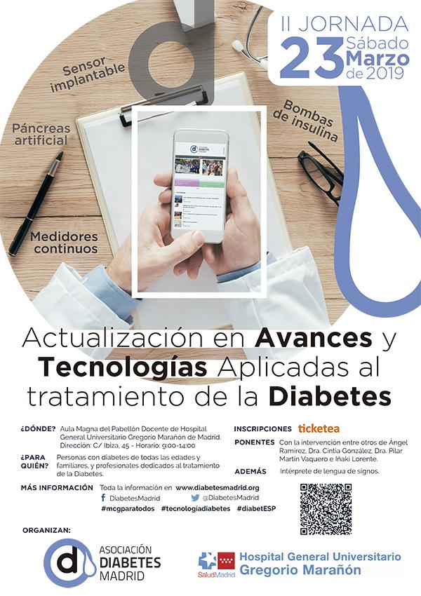 II Jornada de actualización en Avances y Tecnologías aplicadas al tratamiento de la diabetes