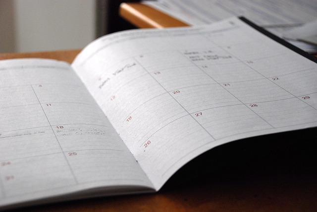 Calendario de revisiones