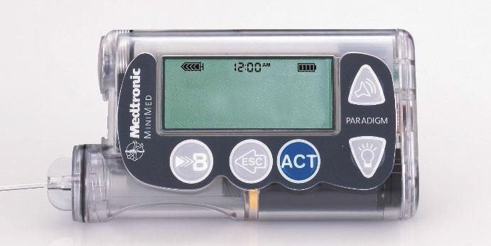 problema de ciberseguridad en determinadas bombas de insulina Minimed Paradigm y Minimed 508