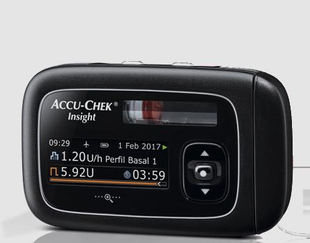 funcionamiento de la bomba Accu-Chek Insight tras una caída o golpe
