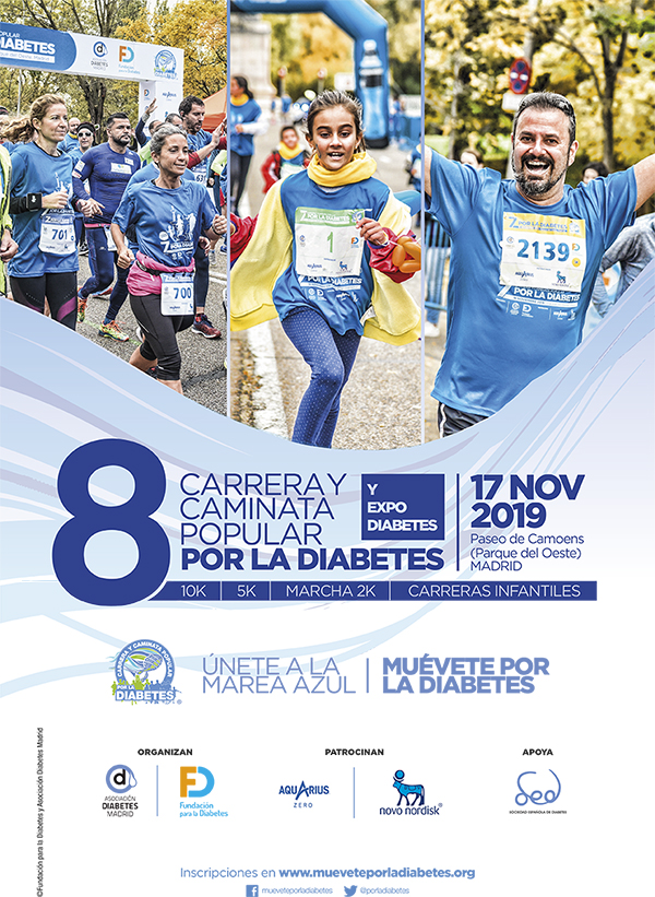8ª Carrera y Caminata Popular por la Diabetes