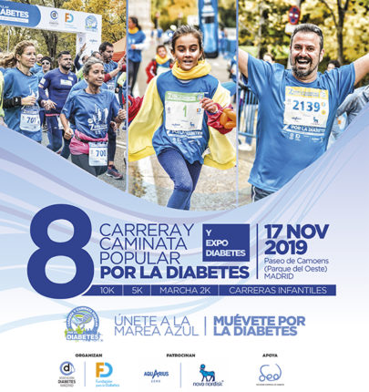 fotos de caminata de diabetes juvenil