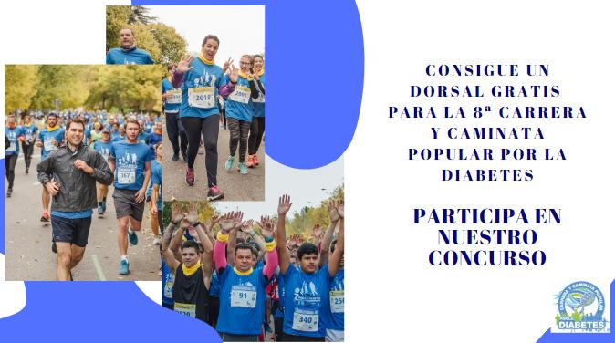 caminata de asociación de diabetes juvenil