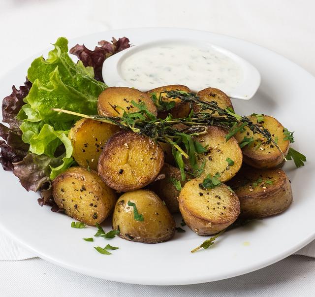 Receta por raciones: Patatas asadas griegas al limón