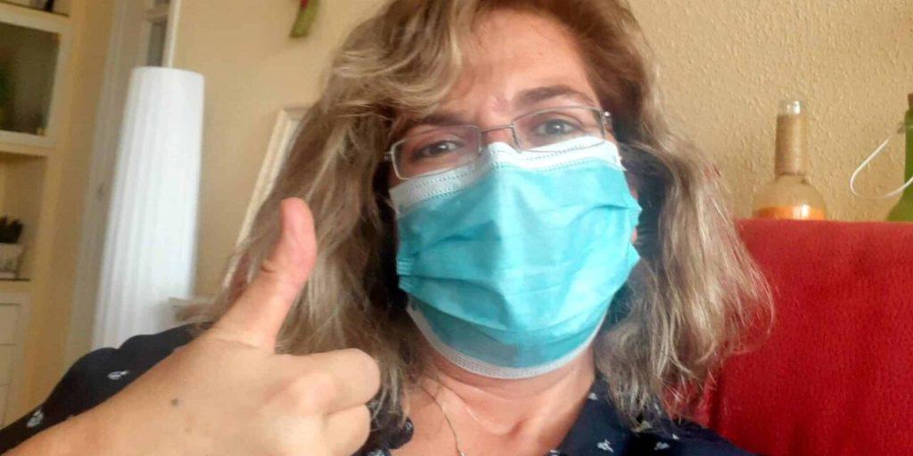 cómo convivir con coronavirus  y diabetes