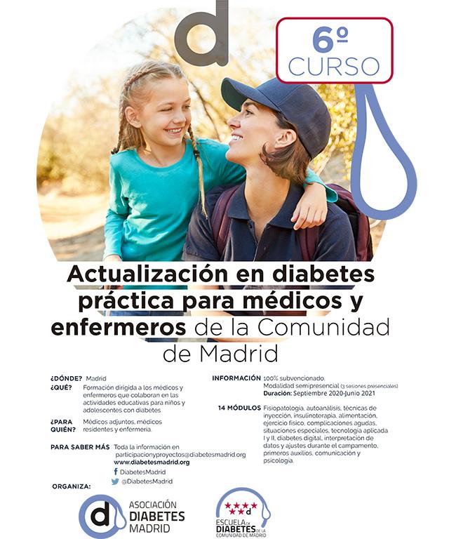6º Curso de Actualización en Diabetes Práctica para médicos y enfermeros de la Comunidad de Madrid