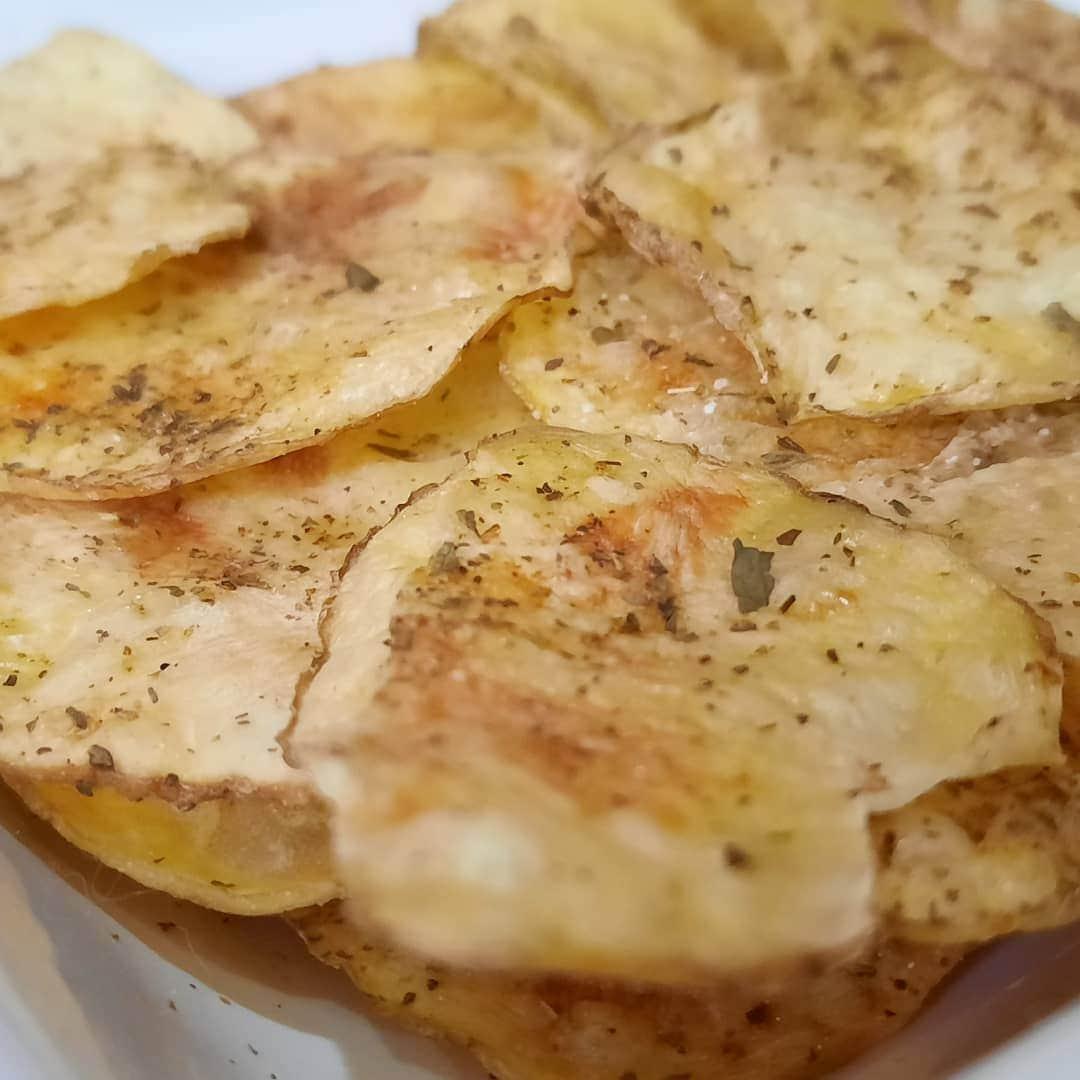 Receta por raciones: Patatas al microondas