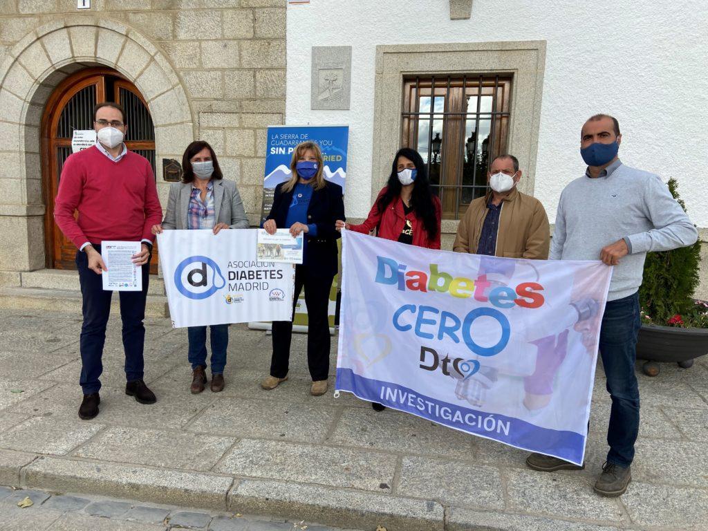 "Los municipios de la Sierra de Guadarrama se suman al reto ""Kilómetros por la diabetes"""