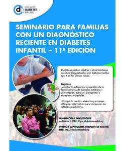 seminario práctico para familias con un diagnóstico infantil reciente