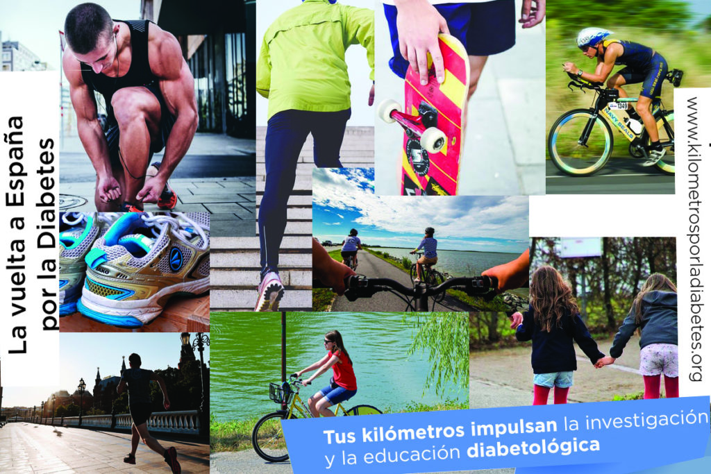 Taller: Diabetes y ejercicio físico 1 con La vuelta a España por la Diabetes