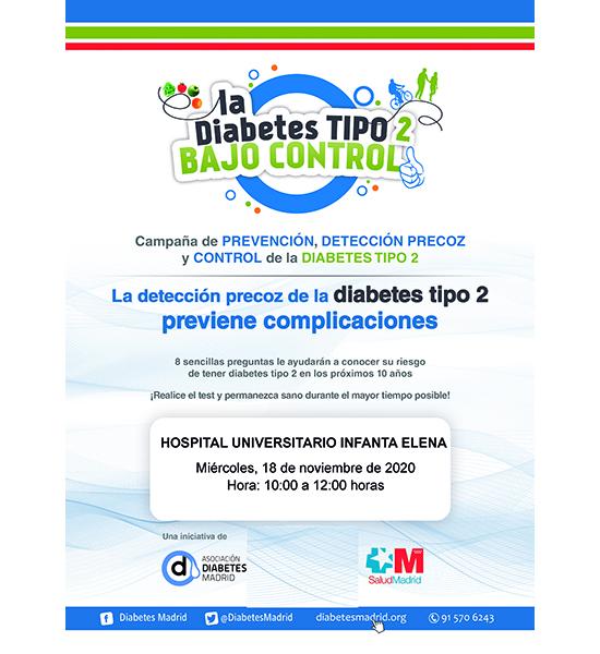 La diabetes tipo 2 bajo control