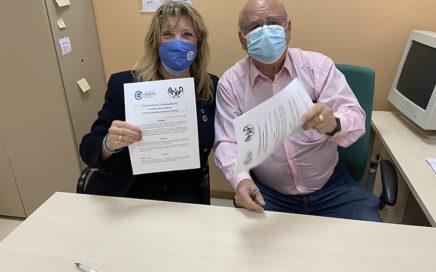 Acuerdo de colaboración entre ADM y ADAP (Asociación de Diabéticos de Alcorcón y Periferia)