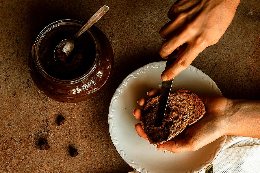 Nutella vegana sin azúcar casera