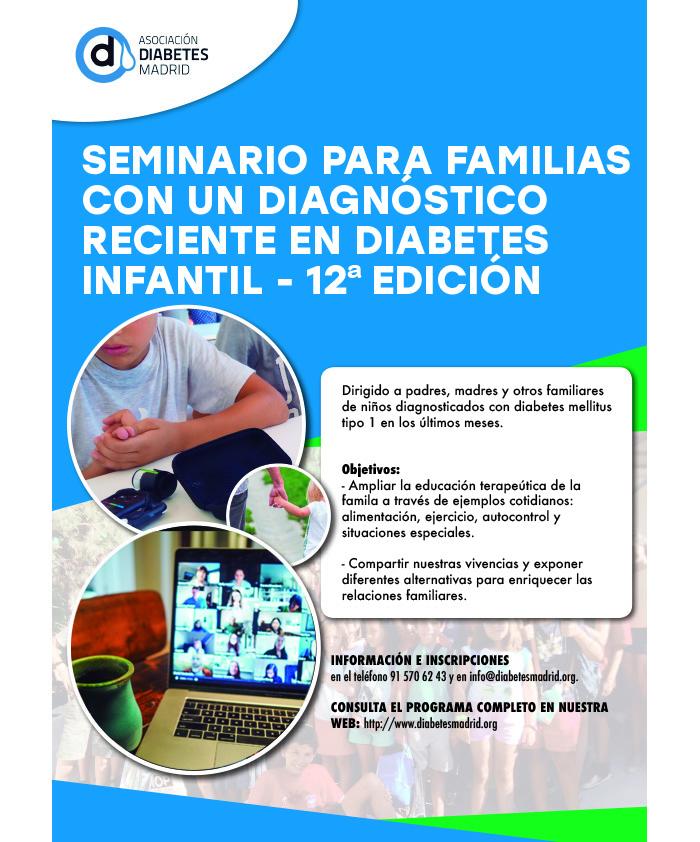 Seminario para familias con un diagnóstico infantil reciente, 12ª edición