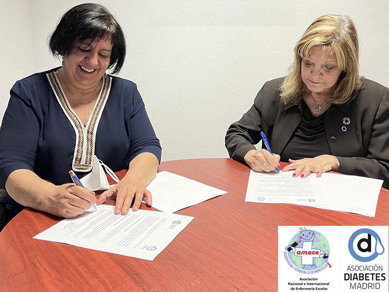 Firmado acuerdo de colaboración entre ADM y la Asociación Nacional e Internacional de Enfermería Escolar